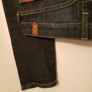 7 For All Mankind Skinny Size 28